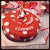 Kizimin Dogum gunu için Minnie Mouse pastasi