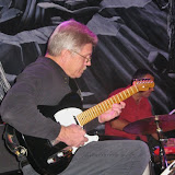 Guitarist Walt Kattner was the featured artist for the October Jazz Gumbo, and presented a sublime set of music with the support of drummer Brent Purcell and bassist JoJo Morris. Special guests who performed with the group were vocalists Kathy Lyon and Rosie Butler, and trumpeter Roger Villines.