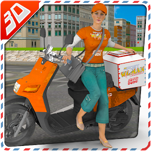 3D Postwoman Simulator Game for PC and MAC