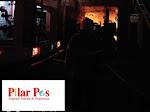 Toko Busana PM Dinihari Tadi Terbakar, Dugaan Sementara Karena Hubungan Listrik Arus Pendek.