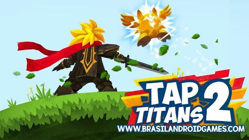 Tap Titans 2 APK MOD DIAMANTES INFINITOS OBB