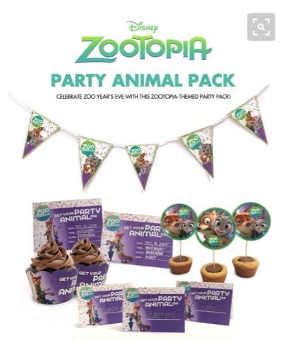 Free Zootopia Party Printables