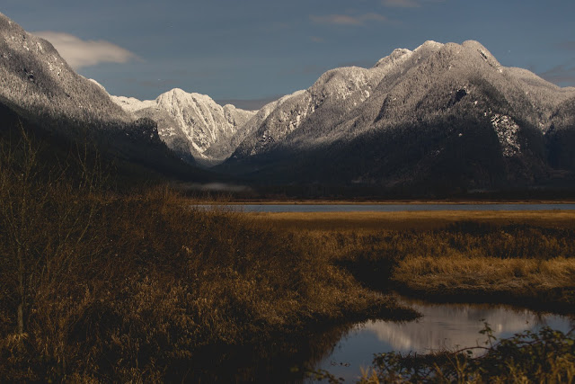 Pitt Lake Midnight. Photographer Isaac Wray