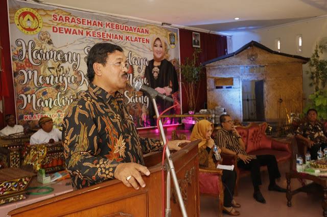 Kupas Sejarah Seni Budaya Wankes Klaten Gelar Sarasehan Kebudayaan
