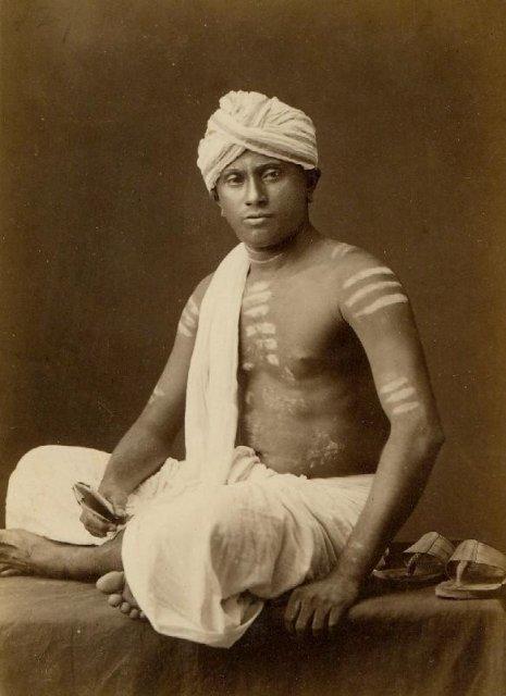 Chetty - Ceylon (Sri Lanka) Circa 1870's