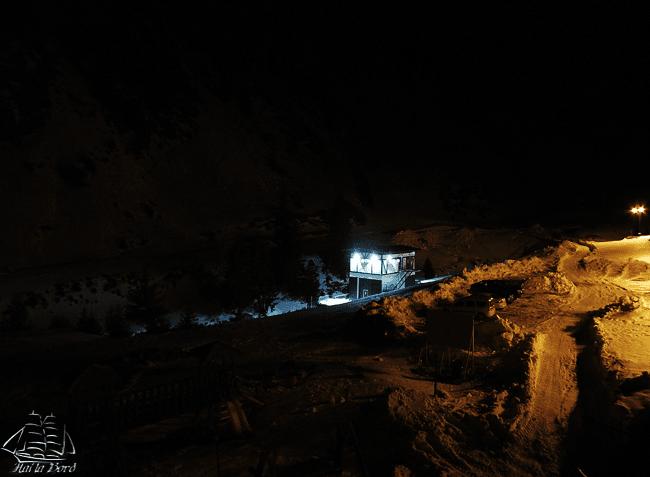 noapte cabana capra transfagarasan