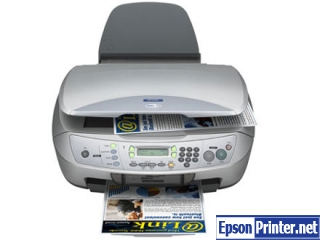 How to reset Epson CX6500 printer