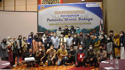 Pembangunan Pariwisata Berkelanjutan, Pemandu Wisata Budaya Ikuti Pelatihan