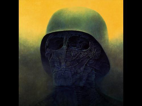 Zdzislaw Beksinski Soldier, Death