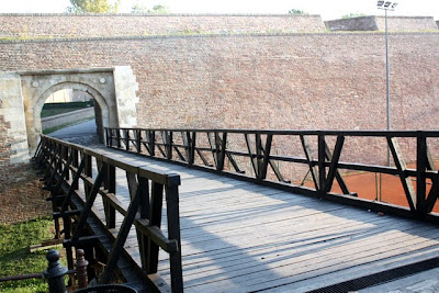 Bridge at Kalemegdan Castle in Belgrade Serbia