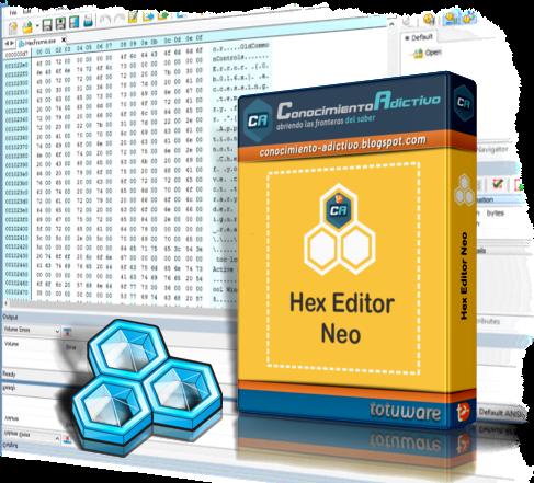 editor hexadecimales: