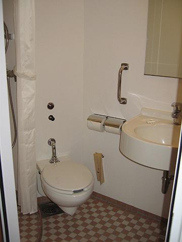 太平洋フェリー「きそ」 1等洋室インサイド トイレ