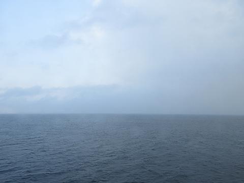 津軽海峡フェリー「ブルーマーメイド」 津軽海峡航行中 その1