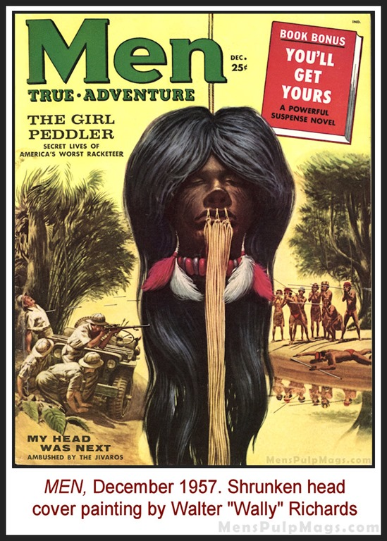 [MEN%2C+Dec+1957+-+Shrunken+head+cover+by+Wally+Richards+REV%5B5%5D]