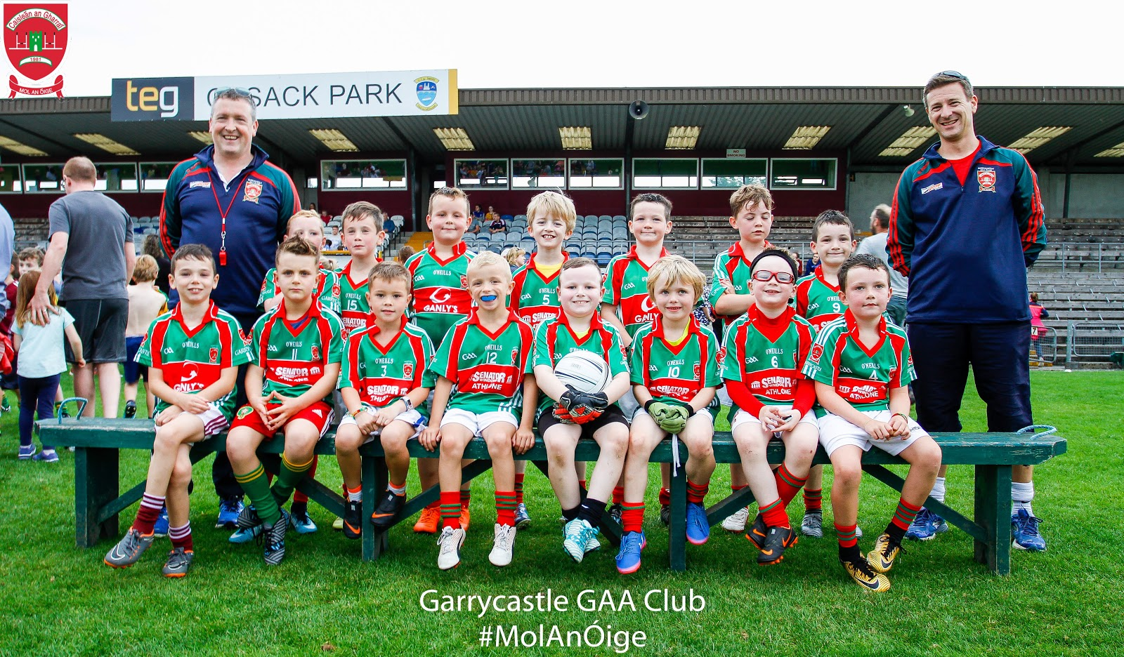 21/08/2018. Garrycastle U8 Cusack Park. Photo: Ashley Cahill/AC Sports Images