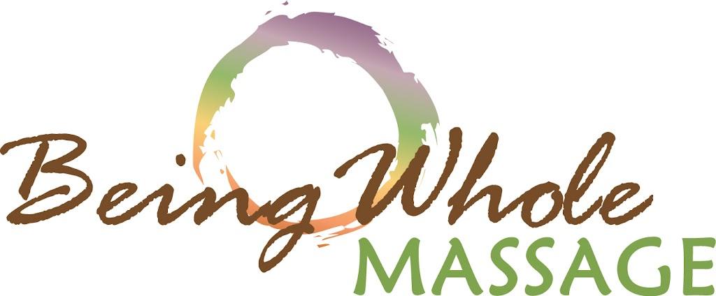 Being Whole Massage logo