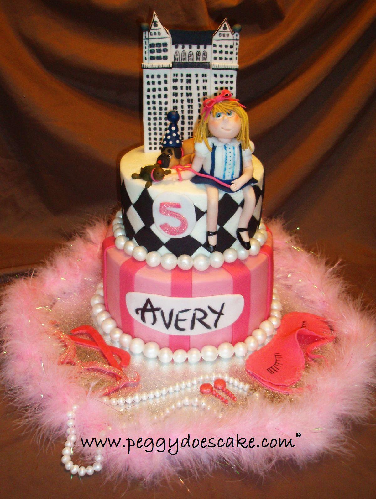 February Birthday Cakes Peggy Does Cake Eloise In The Plaza Birthday Cake Click Photos