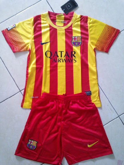 Jual Jersey Barcelona Anak Away 2014