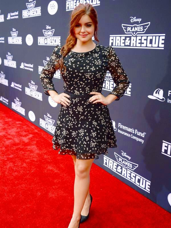 Ariel Winter arrives at the world premiere of 'Planes: Fire And Rescue' at El Capitan Theatre on Tuesday, July 15, 2014, in Los Angeles.