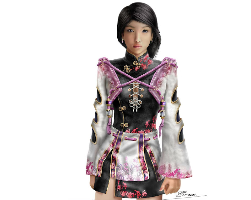 Pink Samurai Princess, Magic Samurai Beauties