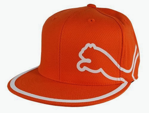 Best - Puma Golf Men s 210 Fitted Monoline Cap (Vibrant Orange White ... 1d28195b2c45
