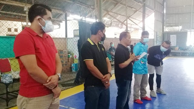 Turnamen Futsal PWI DAS Barito Dibuka Wabup