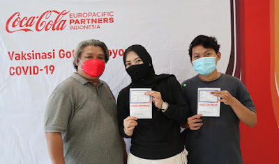 CCEP Indonesia Berantas Pandemi Maknai Hari Kemerdekaan RI Ke-76