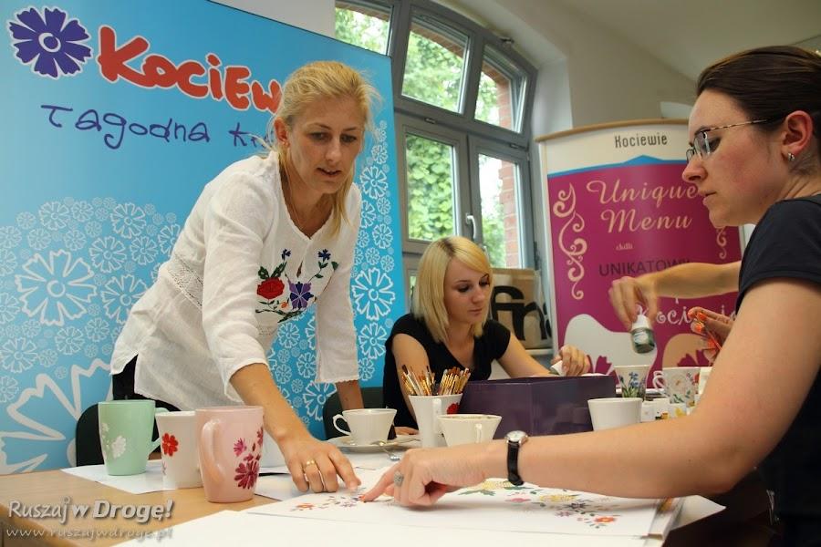 Warsztaty zdobienia porcelany w Tczewie