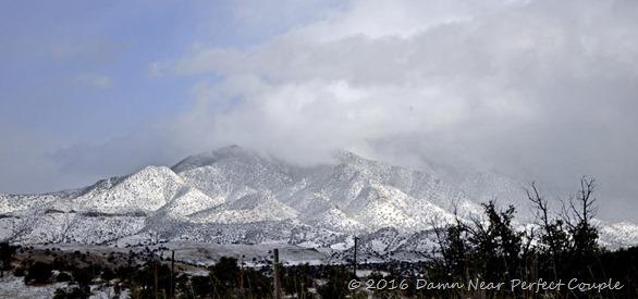 Snowy Huachucas
