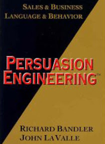 Cover of Richard Bandler's Book Persuasion Engineering