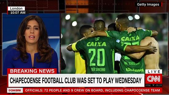 Brazilian football team charter flight crashed during Shah Chapeco yen