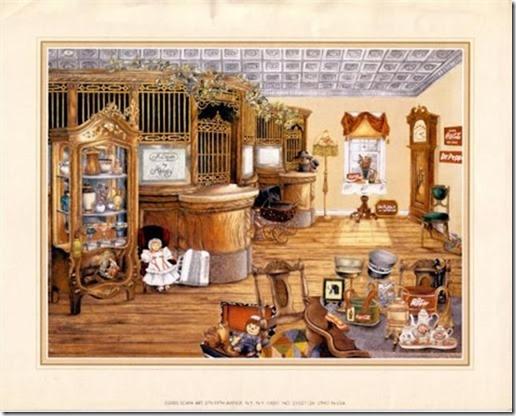 láminas antiguas, ilustraciones viviendas  (2)