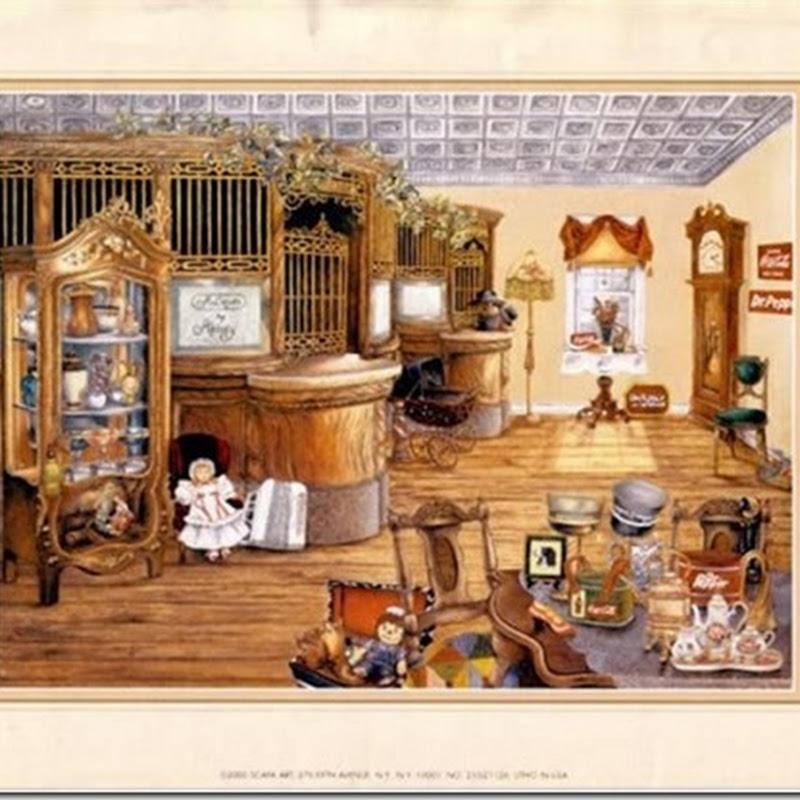 laminas para decoupage partes de una casa vintage