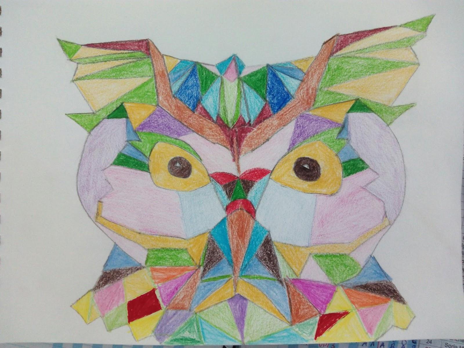 PIRULETAS DE MENTA 3 DE PRIMARIA Dibujos con formas geomtricas