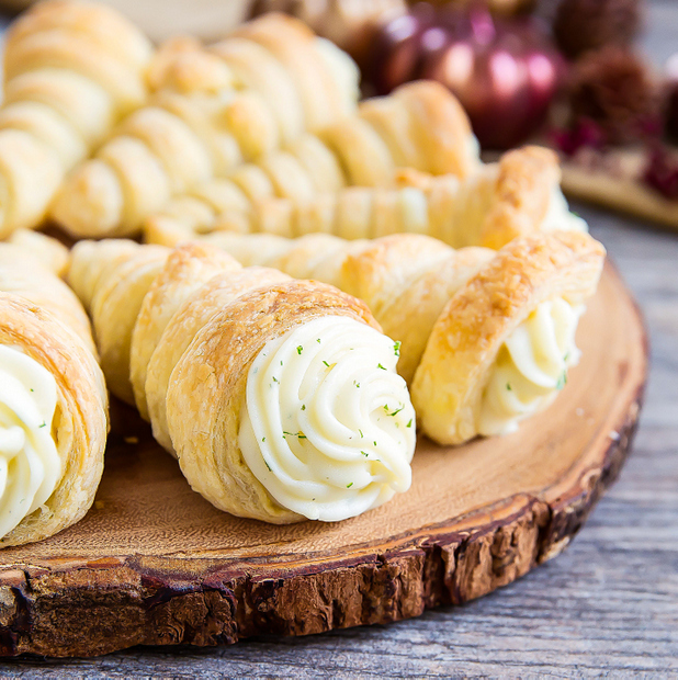 Mashed Potato Cones