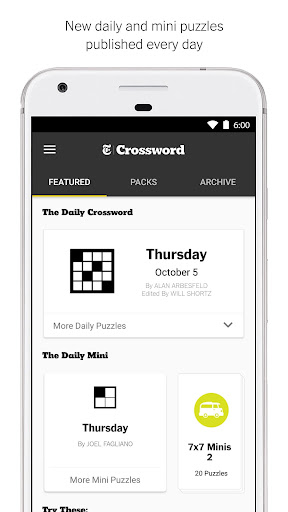 NYTimes - Crossword Screenshot