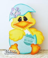 duck shaped card front-650rr