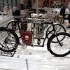 Laurin und Klement TB Motorrad von 1900 aus Privatbesitz liebevoll Restauriert auf dem Skoda Stand