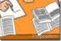 Pengertian Lengkap Preposition