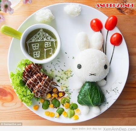 Ảnh đồ ăn siêu dễ thương và sáng tạo