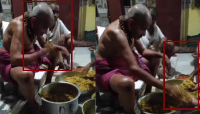 Temple Prasada- ಪ್ರಸಾದಕ್ಕೆ ಉಗುಳಿ ಭಕ್ತರಿಗೆ ನೀಡುವ ಅರ್ಚಕರು: ವಾಕರಿಕೆ ಹುಟ್ಟಿಸುತ್ತೆ ಈ ಘಟನೆ