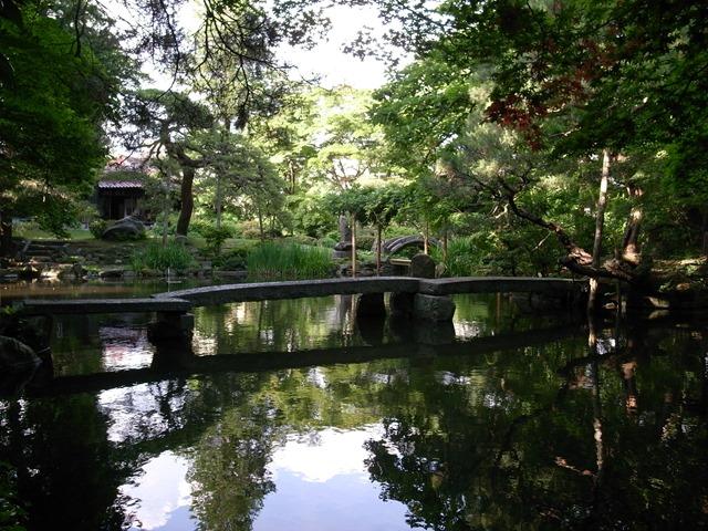 南昌荘お庭