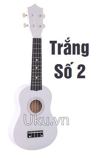 ukulele trơn màu đen