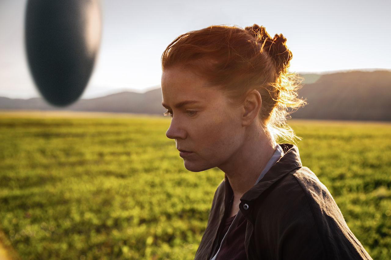 Amy Adams as Louise Banks in ARRIVAL. (Photo: Jan Thijs / Paramount Pictures)