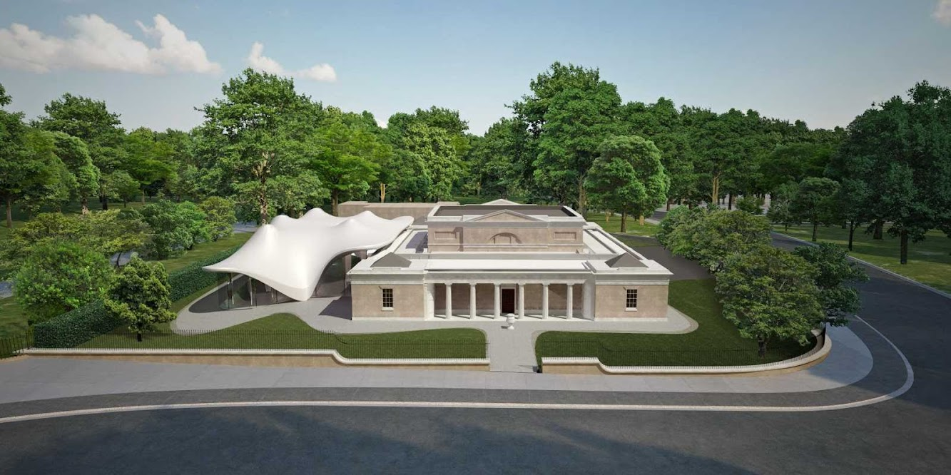 Londra, Regno Unito: The Serpentine Sackler Gallery by Zaha Hadid to Open in September 2013
