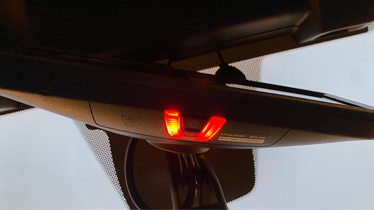 WRX S4 VAGのVAG,WRX S4,ドラレコ取付,ドライブレコーダー取付,MDR-A001に関するカスタム&メンテナンスの投稿画像5枚目