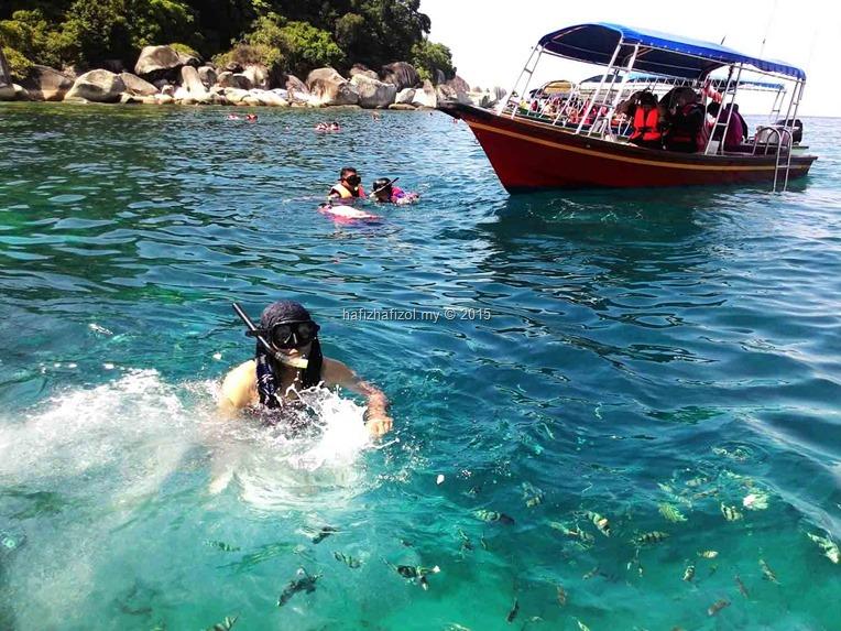 aktiviti snorkeling pulau perhentian