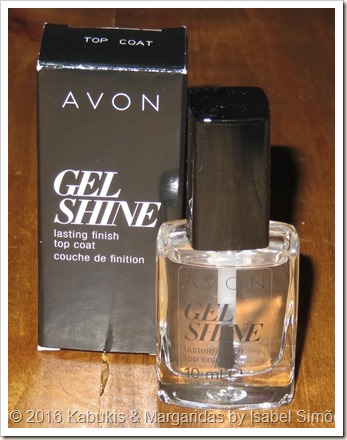Avon Gel Shine Top Coat