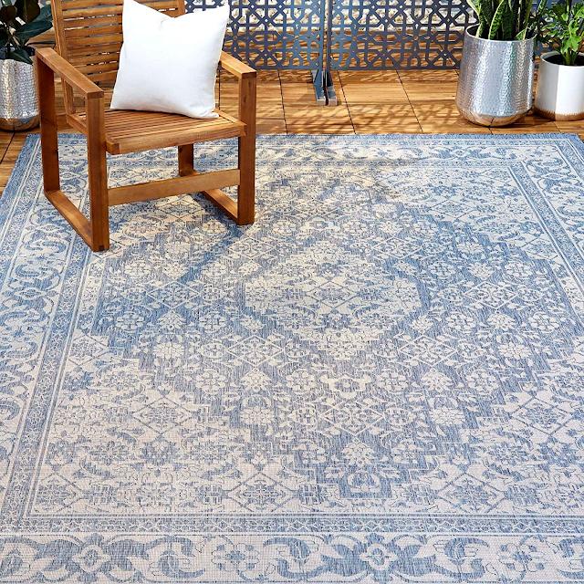 Nichole Miller indoor outdoor rug