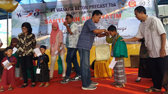Wakita Beton Santuni 100 Anak Yatim Piatu